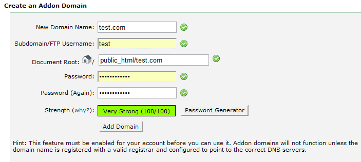 How to Add a new Domain to your Hostgator Account