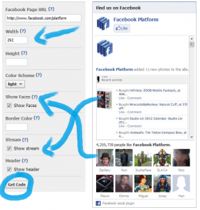 How to add a Facebook Likebox to your website setup