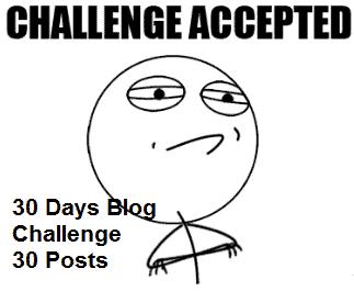 Start a Blog! 30 Days Blog Challenge