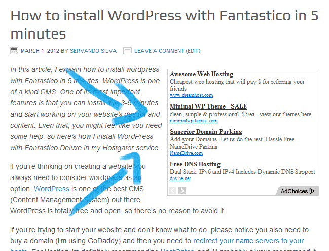 How to add Google Adsense to WordPress Blog