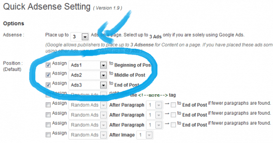 How to add adsense to wordpress Quick Adsense