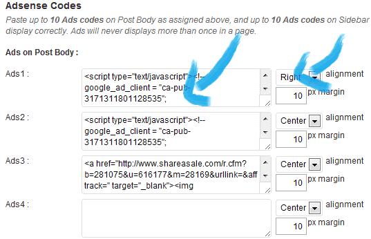 How to add adsense to wordpress Quick Adsense Ads