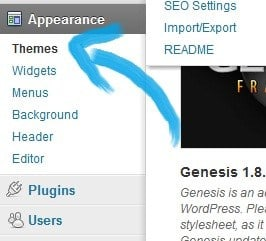 How to install wordpress theme appearance