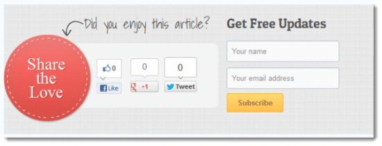 Opt-in Box subscribe to my blog