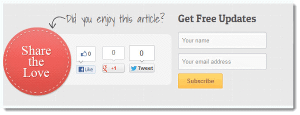 Subscribe to my Blog – How to add an Opt-in Box with Optin Skin