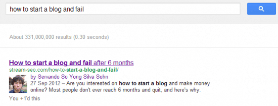 how to get your photo on search results example