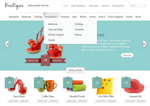 Elegant Themes Boutique ecommerce theme