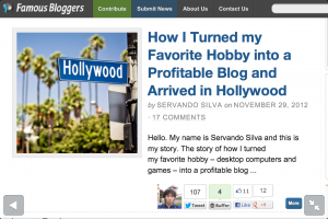 guest post famous bloggers hobby profitable blog