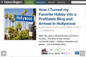 guest post famous bloggers hobby profitable blog