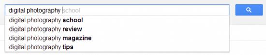 long tail keywords google