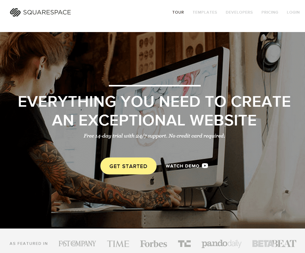 squarespace review 2014 the best squarespace templates. Black Bedroom Furniture Sets. Home Design Ideas