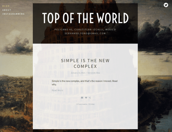 Squarespace Blog Template