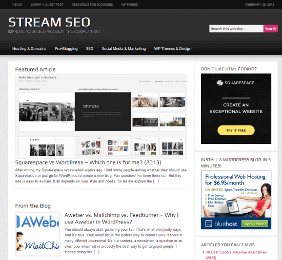 Stream SEO Evolution Feb2012