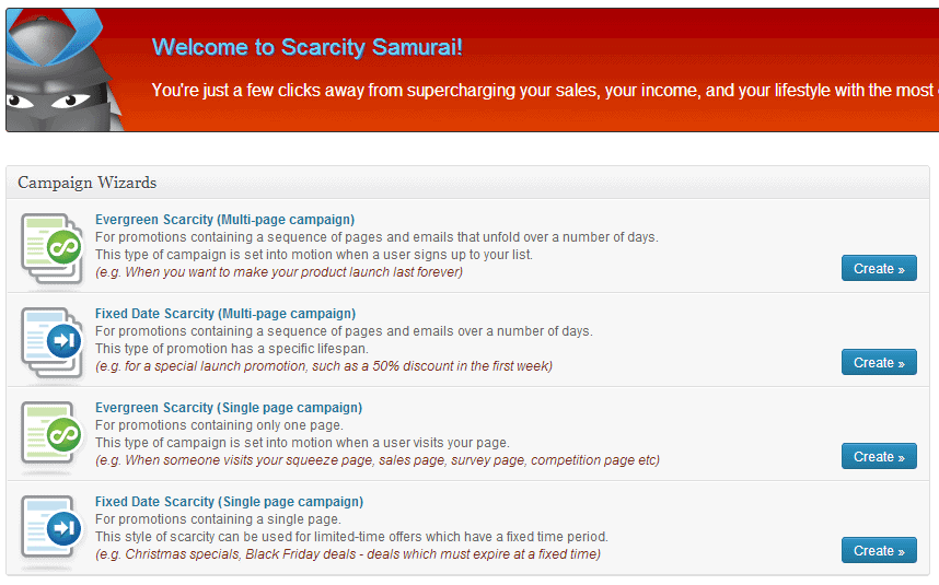 Scarcity samurai review