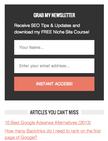 9 Reasons you're not getting email subscribers
