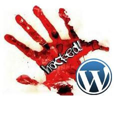 wordpress hacked blog