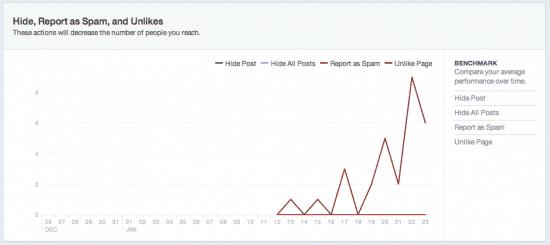 Facebook Ads niche site spam