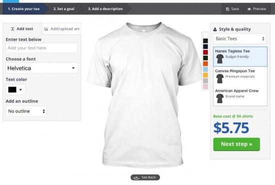 teespring shirts facebook dashboard
