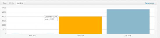 niche site case study.png december stats