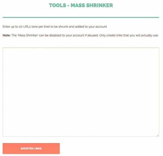 Shorte st review mass tool