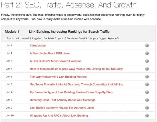 Adsense earnings seo traffic