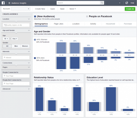 How to Use Facebook Audience Insights to Increase ROI - Stream SEO