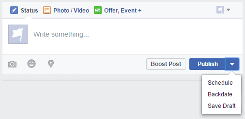 How to create a facebook fan page first post