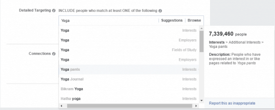 how to get likes on facebook page interests
