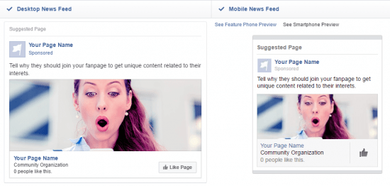 How to get likes on facebook page likes ad