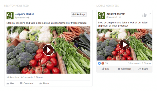 Types of Facebook Ads Boost Post