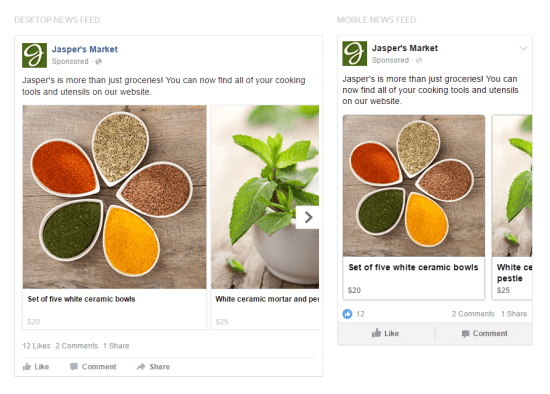 Types of Facebook Ads Brand Awareness