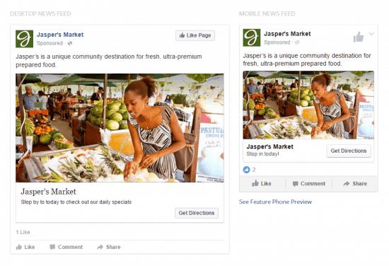 Types of Facebook Ads Local Awareness