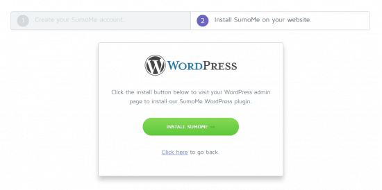 Sumome Free Trial WordPress