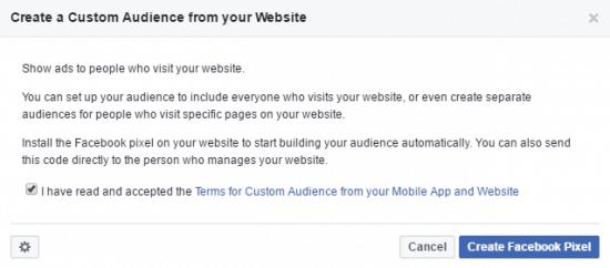 remarketing facebook retargeting pixel