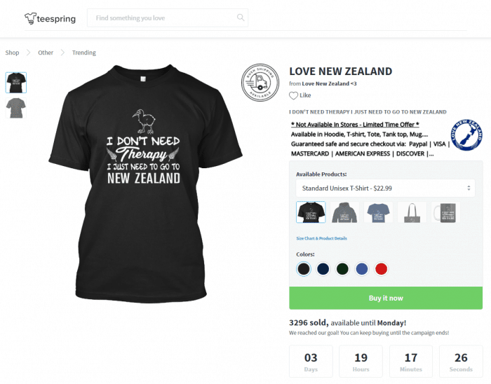 shopify empires the process behind 100000 per month ecommerce stores teespring love new zealand