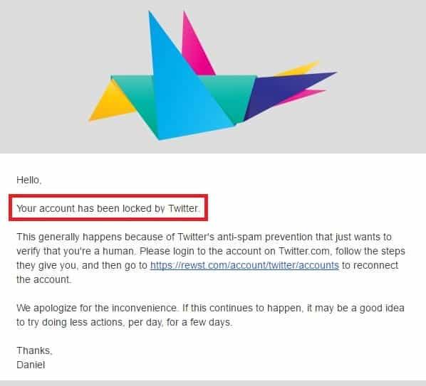 grow my twitter followers rewst account lock email notification