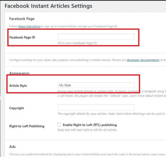 Make Money Facebook Instant Articles Audience Network - Dev App new