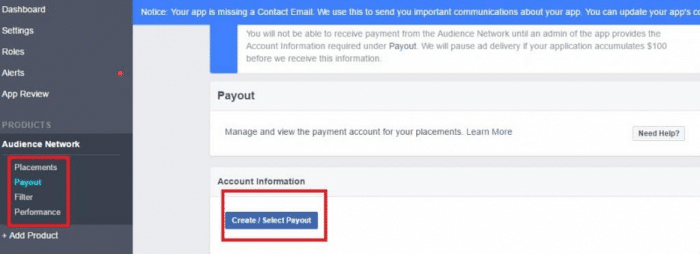 Make Money Facebook Instant Articles Audience Network - Payout