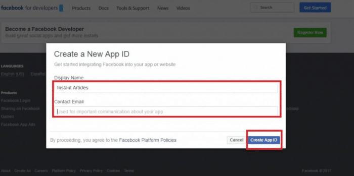 Guadagna Facebook Articoli istantanei Rete del pubblico - invia una e-mail nuova