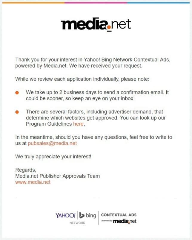 media net review sign up