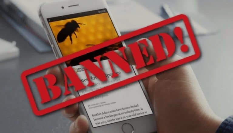facebook instant articles banned