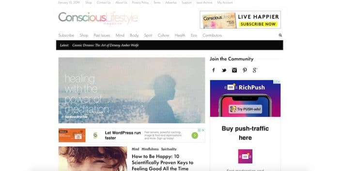 bestlifestyle blogs conscious lifestyle magazine