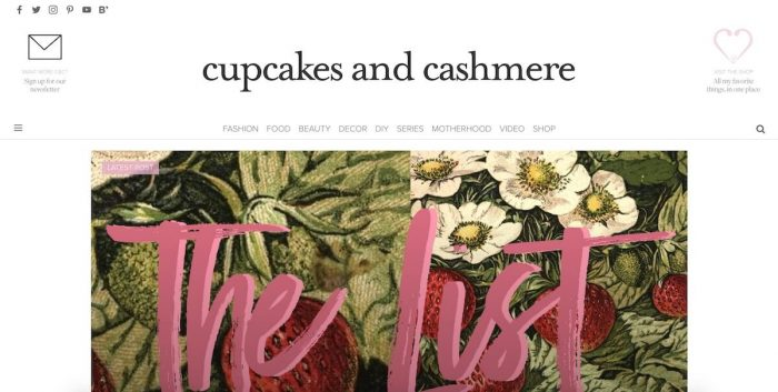 best lifestyle blogs cupcakes and cashmere