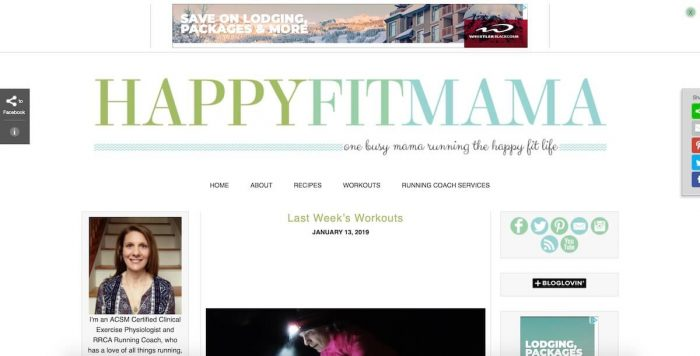 bestlifestyle blogs happy fit mama