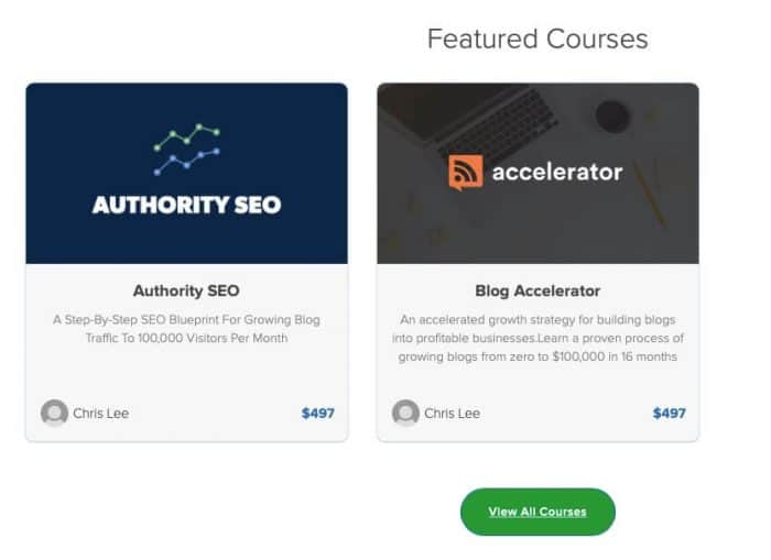 how to monetize a website - courses