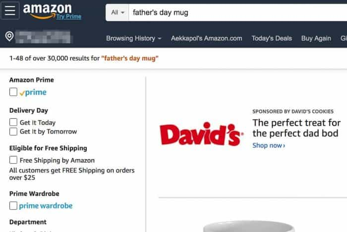 amazon print on demand search results