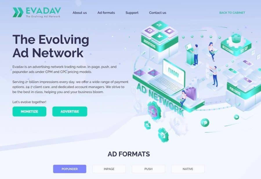 adsense alternatives - evadav