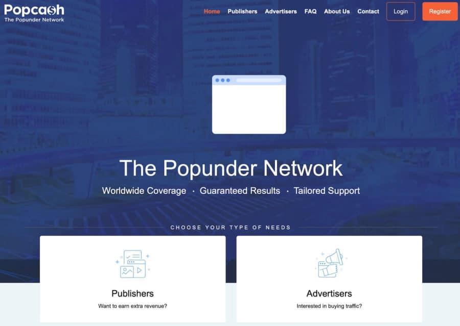 adsense competitors - popcash