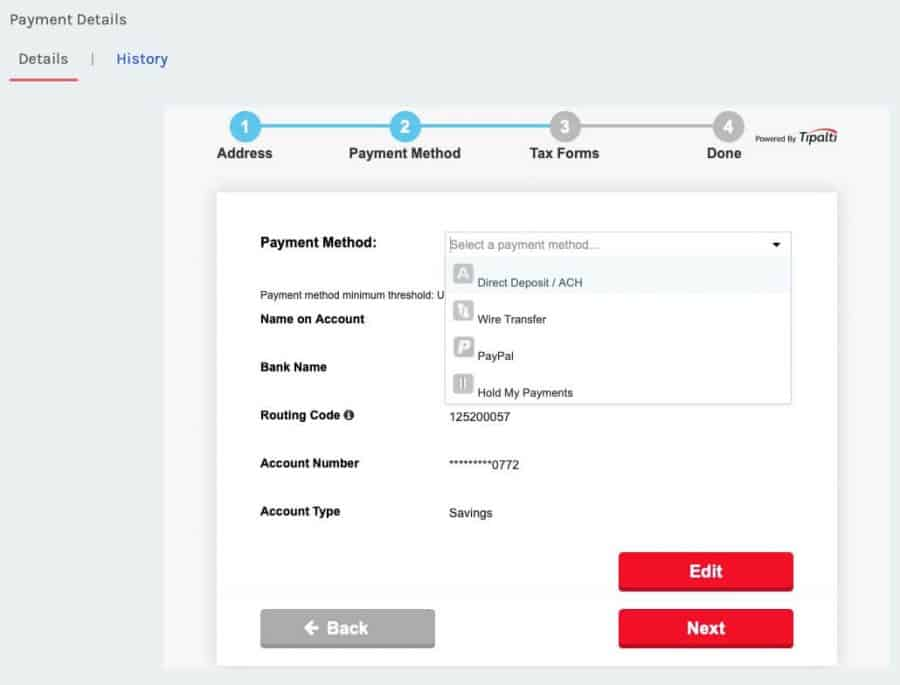 Adpushup review - payment details