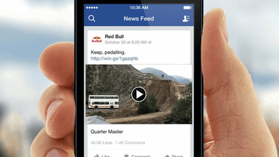 facebook video format landscape
